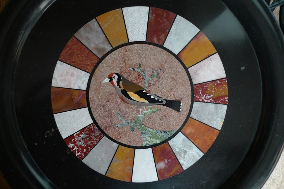 Goldfinch Platter
